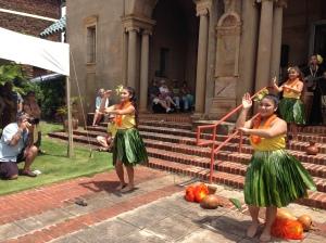 A beautiful hula dance.